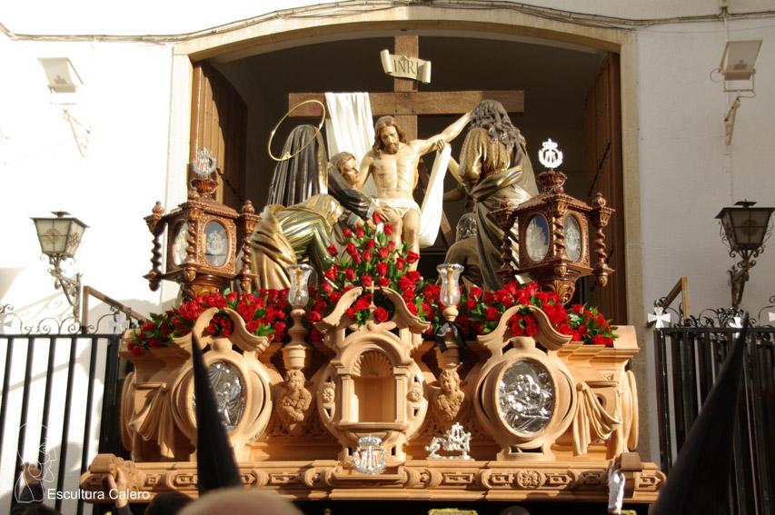 salida de El Descendimiento de Linares
