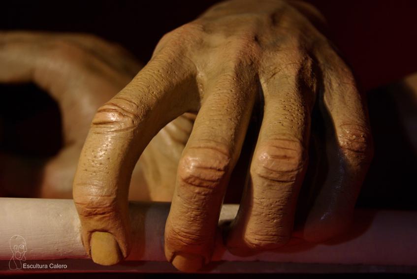 Detalle manos sanedrita