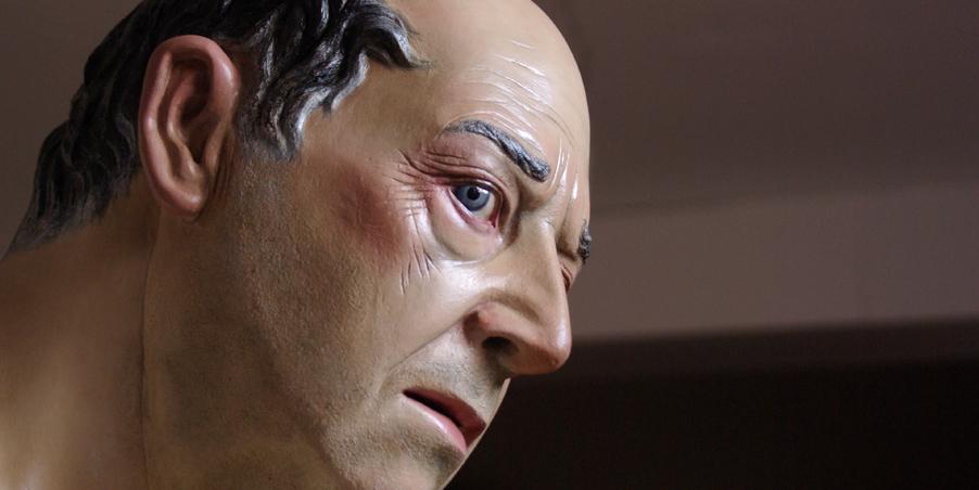 Detalle rostro Poncio Pilatos