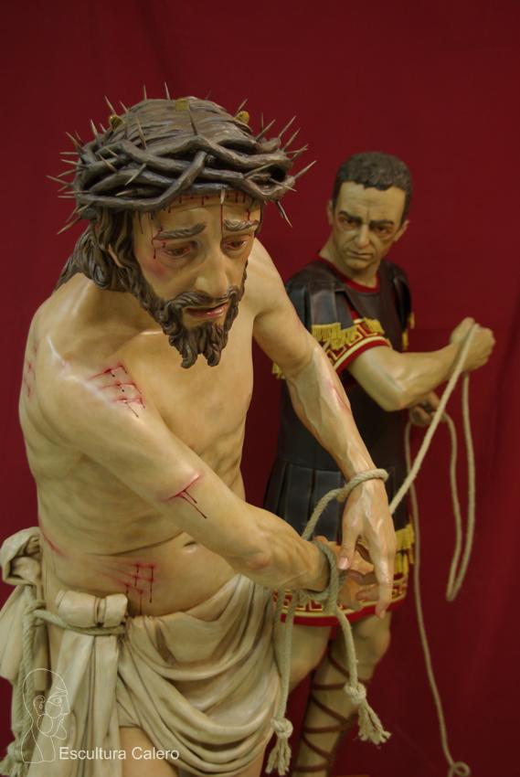 Figura de Cristo a tado por centurión