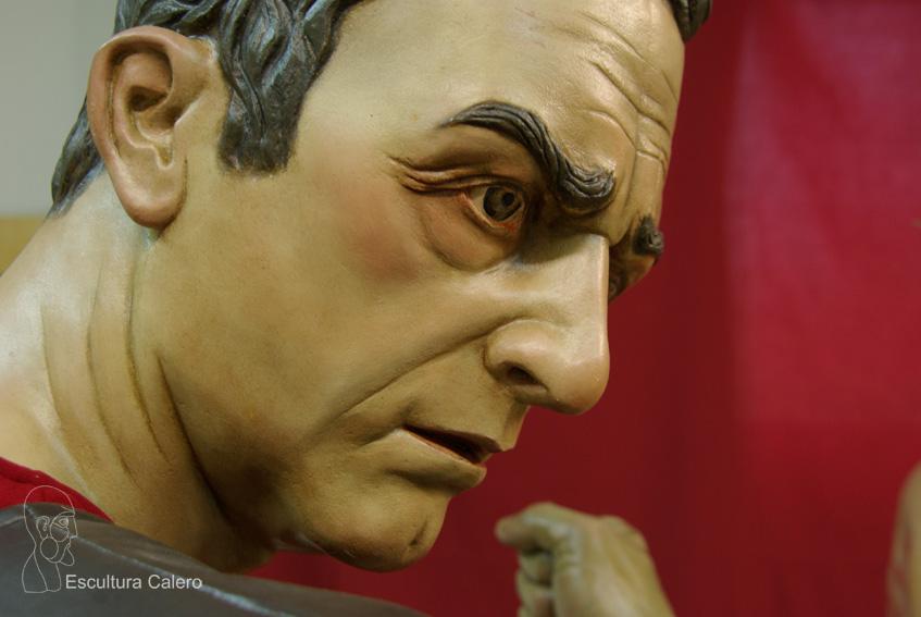 Romano detalle rostro