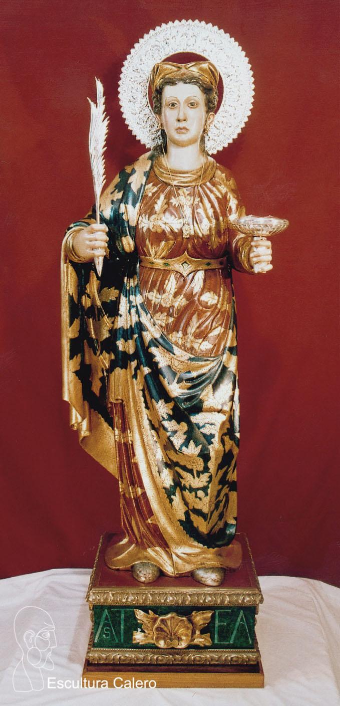 Figura de Santa Agueda