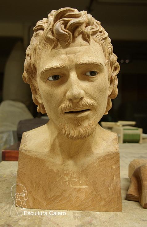 Figura de San Juan Evangelista